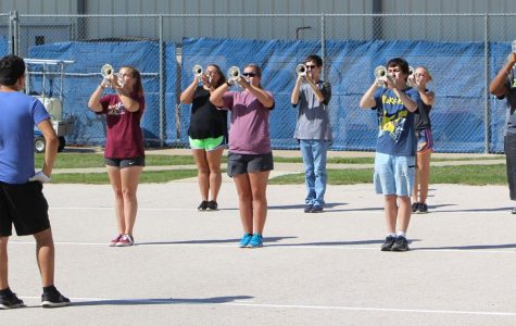Badgers Working To Win UIL State Marching Band Contest