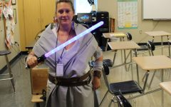 Few Dress Up For Star Wars Pep Rally Theme