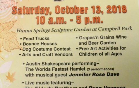 Artober Fest To Be Held Oct. 13 at Campbell Park