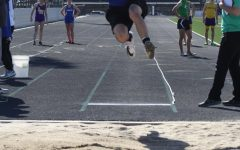 Badger Track Competes at District Meet