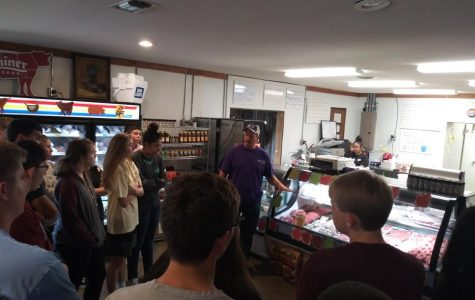 Advanced Culinary Arts and Culinary Arts 1 students visit M&M Block and Deer Processing on Sep. 3.