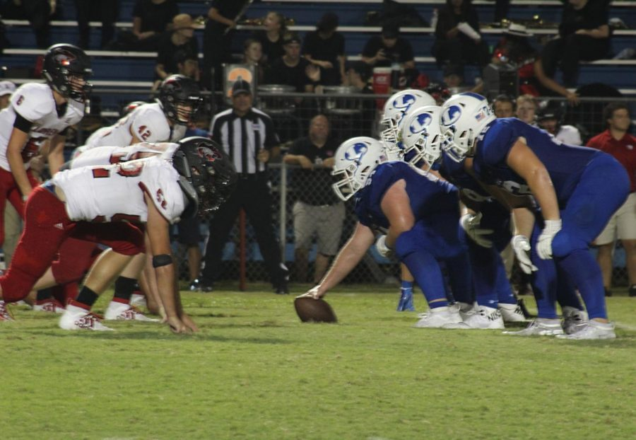 The football team played the Lorena Leopards at home on Sept. 13. The Badgers fell short by one point, with the final score 30-31.