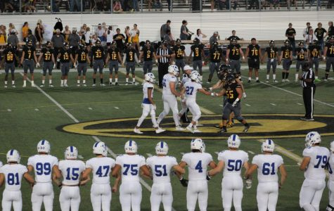 """Football Team """"Fired Up"""" To Victory Against Gatesville"""