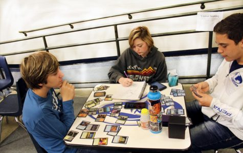 Card Players To Duel With Magic
