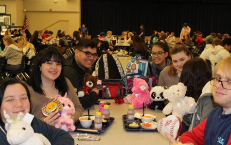 Students Celebrate Valentine's Day