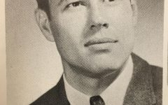 Staff photo of Dick Parker from the 1968 Lampasas High School yearbook. Parker is the attendance clerk today and he celebrated his 80th birthday Aug. 27. He has been in education for 57 years.