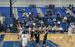 Austin Wilson makes a layup in the game against Gatesville Jan. 22.