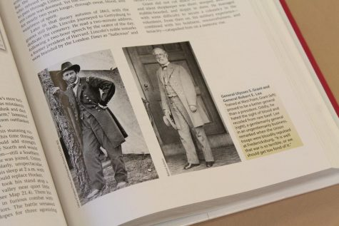 These are photos of Ulysses S. Grant and Robert E. Lee in the American Pageant textbook. If cancel culture continues, could images like these be removed from future textbooks?