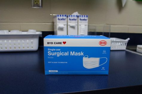 The nurse will keep some masks in her office, but these are limited only to emergencies. Students are responsible for bringing their own masks daily or they will be sent home.