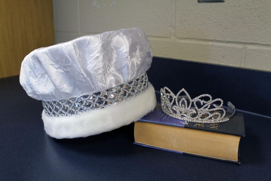 For the first time, a teacher homecoming queen and king will be crowned at the pep rally today.