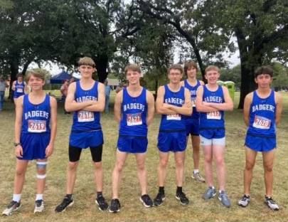 Boys varsity cross country runners Kaleb Roberts, Colton Paxton, Ben Stone, Jodiah Holland, Tate Rainwater, Brayden Phillips and Clayton Shaw will compete at the regional meet Monday.